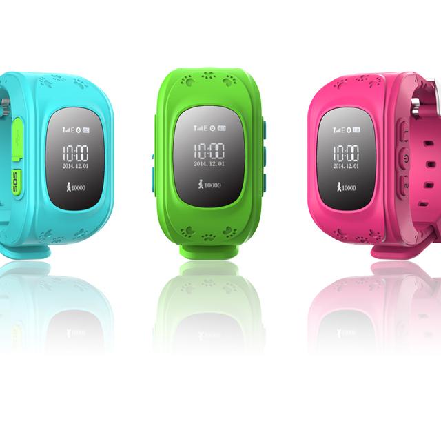 Teléfono inteligente Reloj Niños Kid Reloj de Pulsera GPS Tracker Inteligente Relojes Anti-perdida Smartwatch Q50 Usable Dispositivos para iOS Android