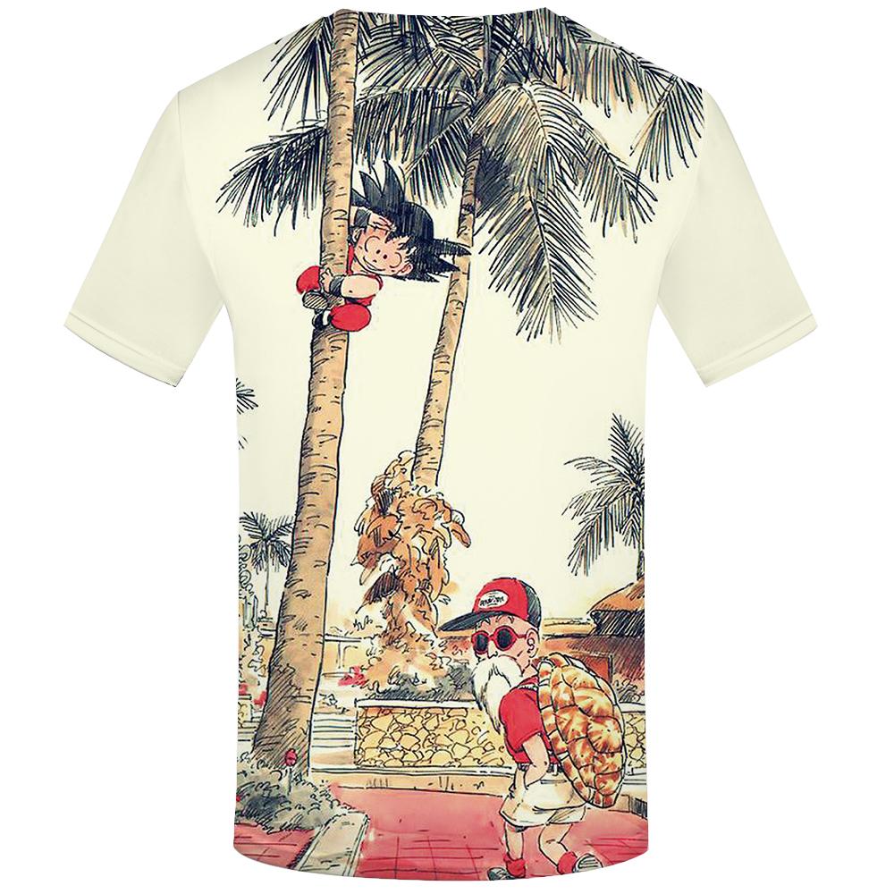 KYKU Brand Dragon Ball T Shirt 3d T-shirt Anime Men T Shirt Funny T Shirts Hip Hop 17 Japanese Mens Clothes Vintage Clothing 39