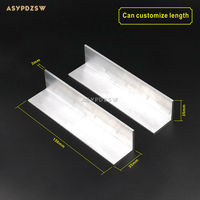 2 PCS 156 35 35 Gold Sealed Tube Amplifier Power Amplifier Angle Aluminum Heat Sink Can