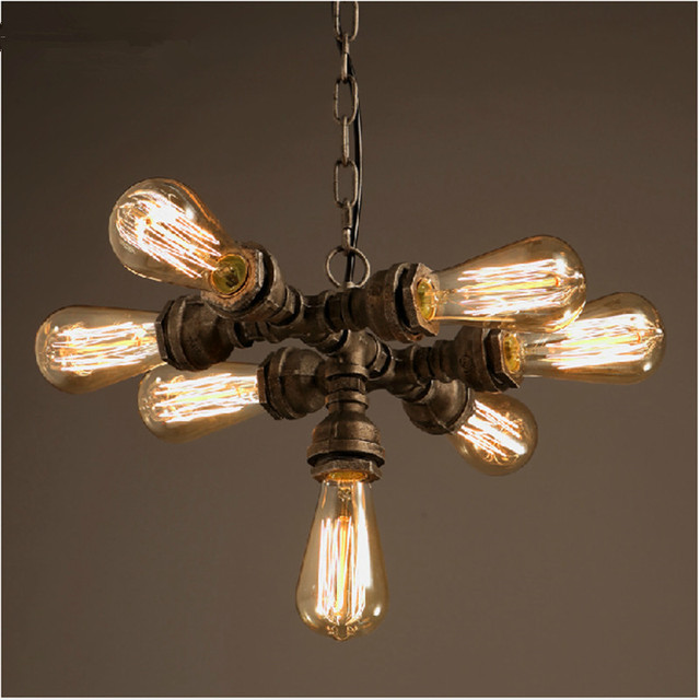 to chandelier modern industrial pertaining light rustic amazing captivating