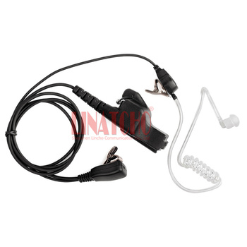 Walkie Talkie Ohrhörer Und Mikrofon | Walkie Talkie MT1500 MT2000 HT1000 XTS5000 XTS2500 PTT Mic Luft Schlauch Headset Hörer