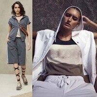 Женские комплект из 2 предметов Повседневный Спортивный костюм для Женская мода толстовка и moletom комплект женские толстовки sudadera mujer conjunto