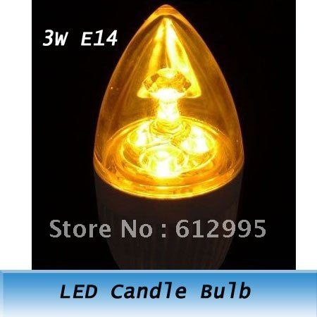 3W E14 Decoration High Power Warm White Light AC 110V-240V LED Candle Spotlight Bulb Lamp 1 - Luyu Store store