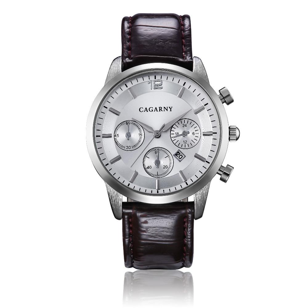 Hot Fashion Horloges Super Man Top Luxe Merk Cagarny Horloges Mannen - Herenhorloges - Foto 5