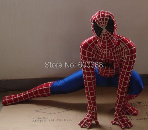 New <font><b>spiderman</b></font> mascot <font><b>costume</b></font> <font><b>adult</b></font> size <font><b>delux</b></font> quality