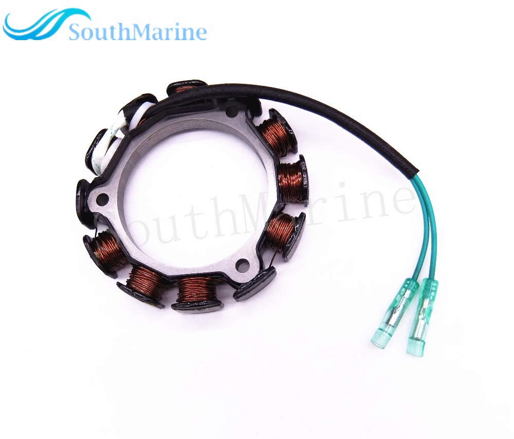 US $39 39 16% OFF|Boat Motor Stator Assy F6 04000800A for Parsun HDX 4  Stroke F6A F5A Outboard Engine , Free Shipping-in Boat Engine from  Automobiles