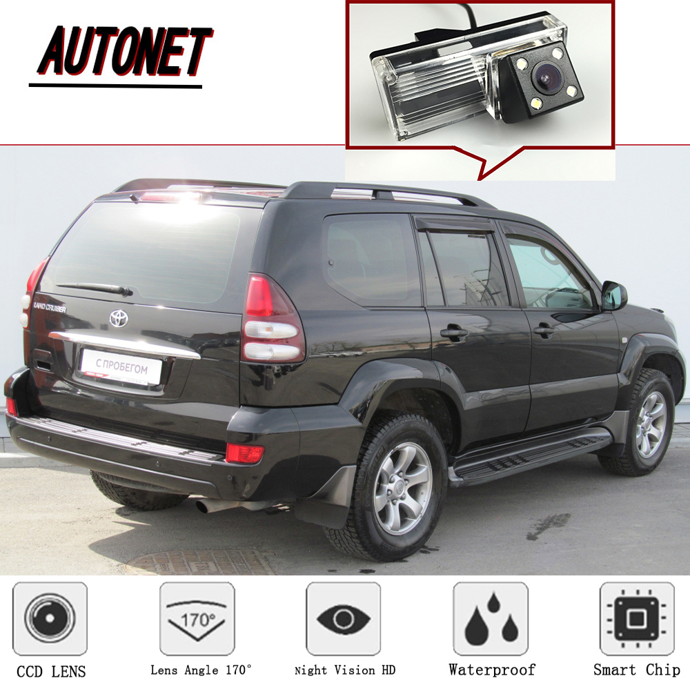 AUTONET for <font><b>Toyota</b></font> Land Cruiser <font><b>LC</b></font> <font><b>100</b></font> 120 200 Prado Wireless Car Rear View Camera Auto Backup Reverse Parking Rearview Camera image