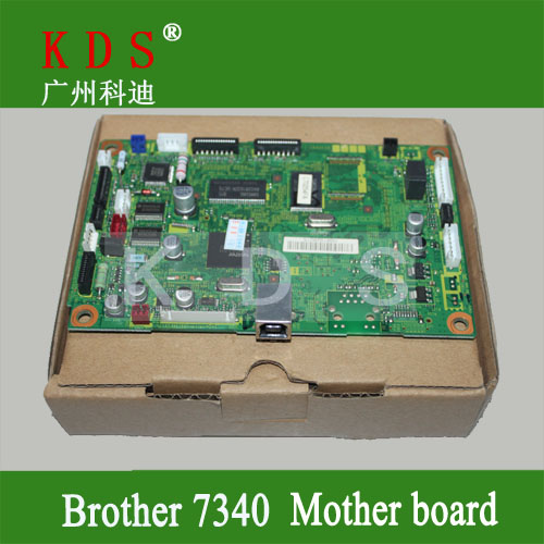 ФОТО Original Laser Printer Parts Main PCB Assy for Brother MFC7340 Formatter Board LT226001 Mother Board Remove from New Machine