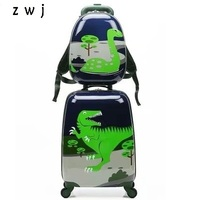 Cartoon children's suitcases luggage set trolley bag for kids