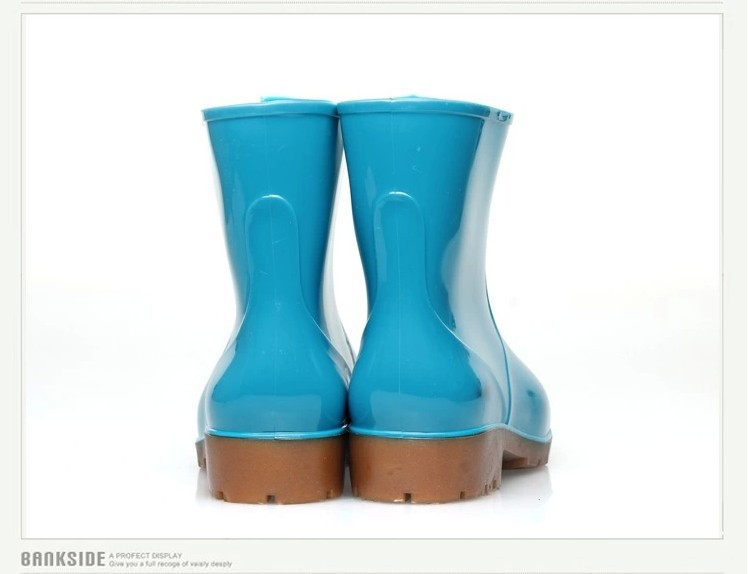Cool Boots Rainboots Women Rain Boots Rubber RainbootsinBoots From Shoes