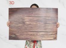 Arrière-plan de photographie en PVC, 58x86cm, 2 faces, 80 couleurs, arrière-plan d'impression en bois, imperméable, fond mural en marbre pour appareil Photo, Studio Photo