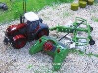 Big Size Kingtoy Rui Chuang 1 28 Multifuncional Rc Farm Trailer Tractor Truck Free Shipping