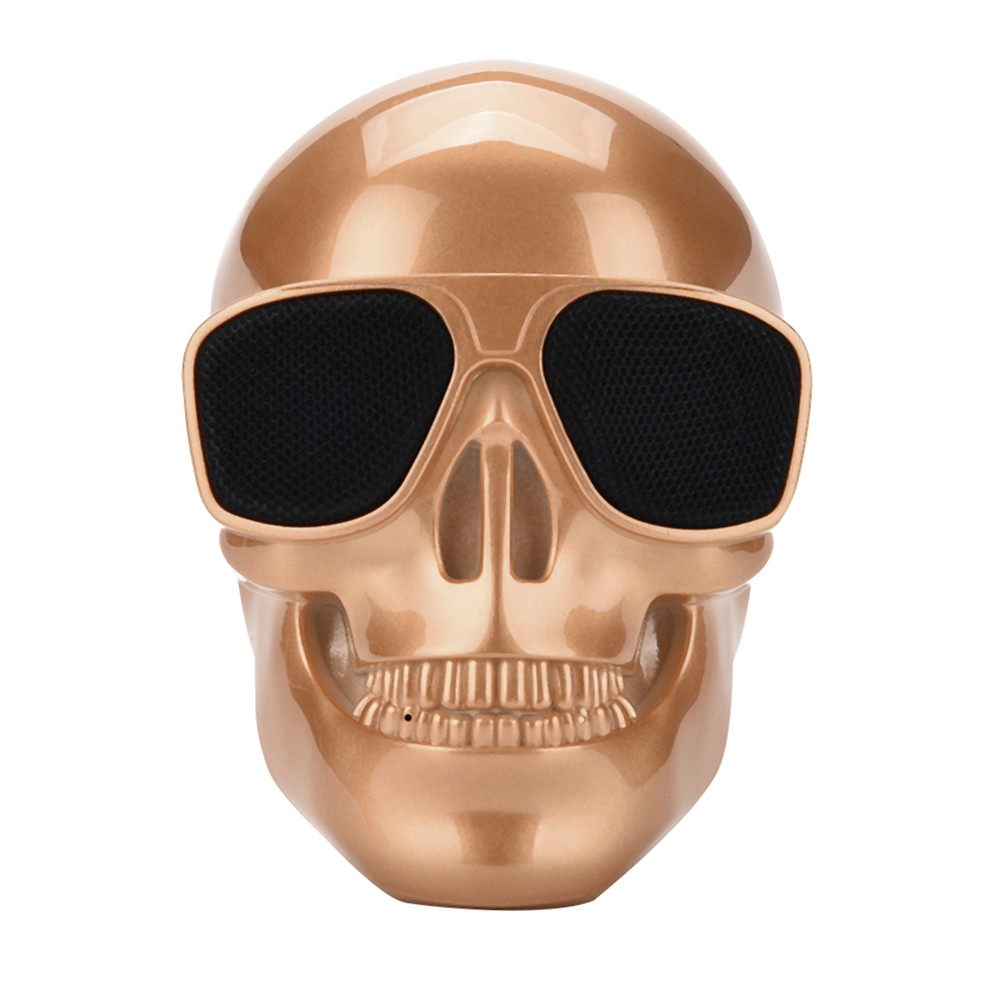 Bluetooth-Speaker Skull Bass Sound Protable High-Quality Wireless 1 with HD And Dropship title=