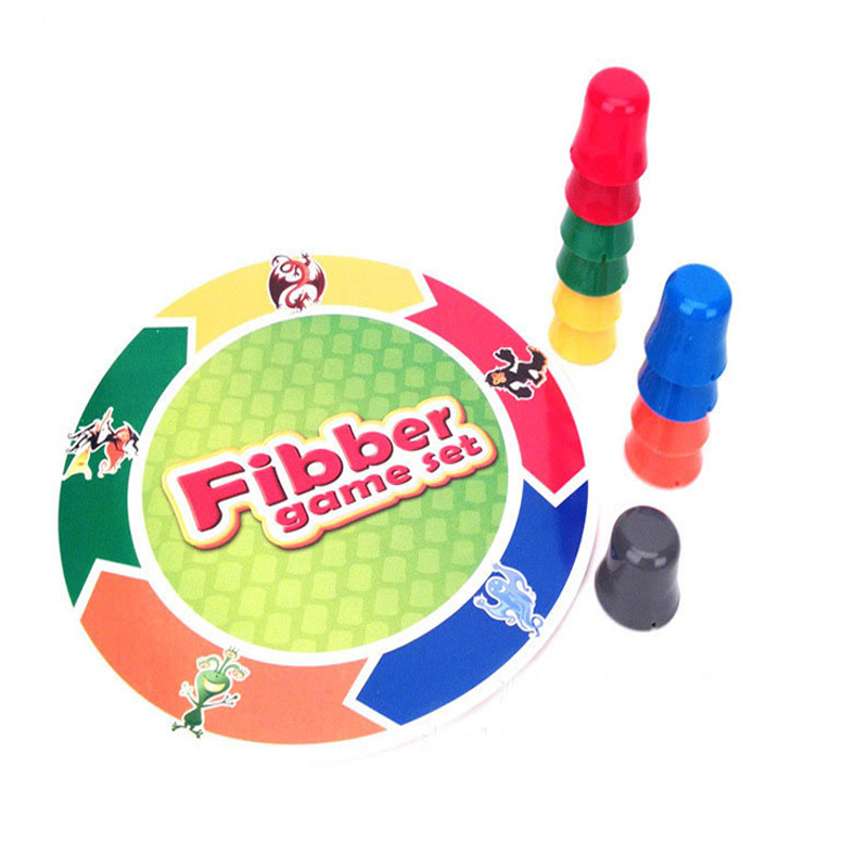 2-4 Players Liar Fibber Board Game Hilarious Noses & Glasses Stretch The Truth Your Nose May Grow Family Funny Toys For Children