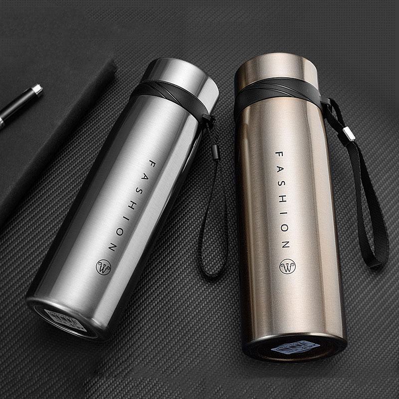 Image 5 - 500/650/900/1100ml Thermos Bottle Stainless Steel Tumbler Insulated Water Bottle Portable Vacuum Flask for Coffee Mug Travel Cup-in Vacuum Flasks & Thermoses from Home & Garden