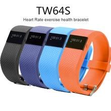 2016 New TW64S Pulso Inteligente Banda Pulse Measure Good Band Sport Good Wristband Well being Health Tracker IP67 Coronary heart Price