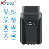 OBD2 XTOOL A30 Scanner Full Systems Code Reader Auto Scanner OBD 2 Diagnostic Tool for Android/IOS System Bluetooth