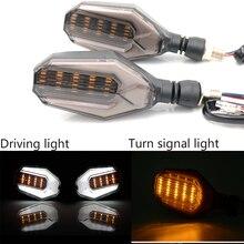 Светодиодный индикатор поворота для мотоцикла, янтарная лампа, сигнальные индикаторы, мигалки, 3 провода, универсальные для Honda Kawasaki, цена