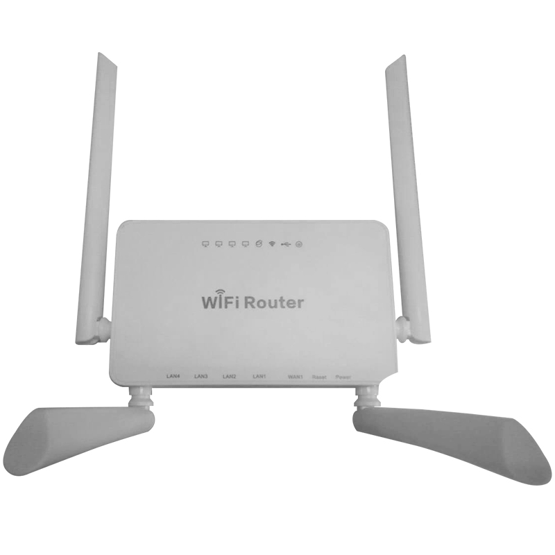 Cioswi Weiß 300 Mbps Wireless Ap Router Mit 1 Wan 4 Lan Wireless Access Point, internet Wifi Router Für Usb Modem Unterstützung E3372