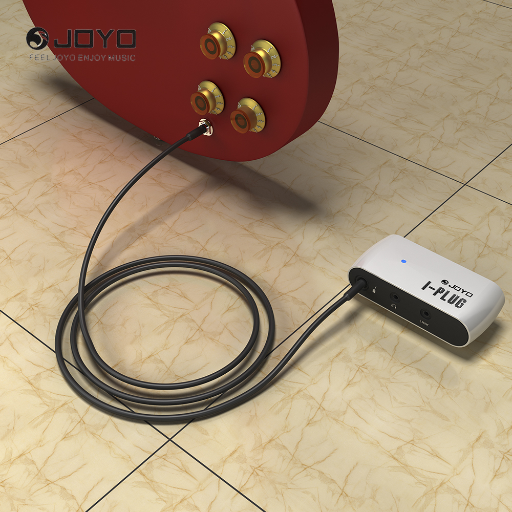 Portable Mini Electric Guitar Headphone Amp Amplifier Built-in Overdrive Effect For Android/IOS/Window Phone Joyo I-plug усилители для наушников in akustik premium headphone amp no 1 00415005