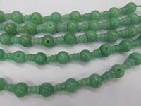 high quality 10 SETS DongLing Jade Beads 3 hole beads,T Set, Guru rayer Beads, Mala Making Cones