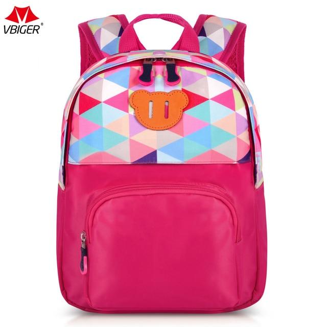 Vbiger Cartoon Kids Backpack Kindergarten School Bags For Girls