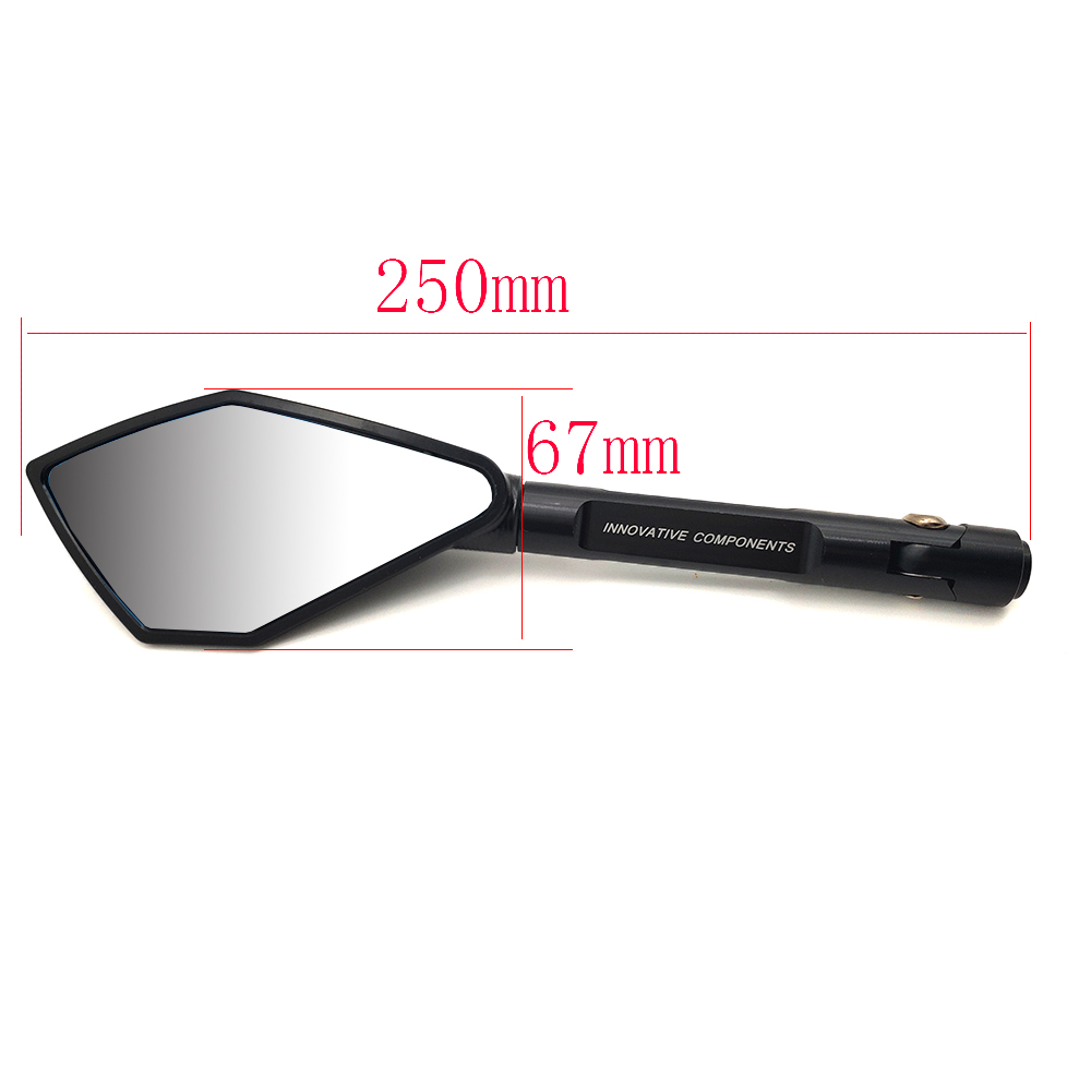 Full CNC Aluminum Motorcycle Mirrors Moto Rearview Blind Spot Side Mirror For YAMAHA XMAX 125 250 300 400 Iron Max NMAX 125 R120 in Side Mirrors Accessories from Automobiles Motorcycles