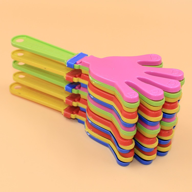600pcs/lot Plastic Hand clapper clap toy cheer leading clap for Olympic game football game Noise Maker Baby Kid Pet Toy