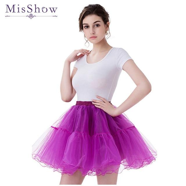Multi Colored 2 Layers Short Petticoat Tulle Crinoline 2017 Hot Sale Underskirt For Wedding Dress Girl