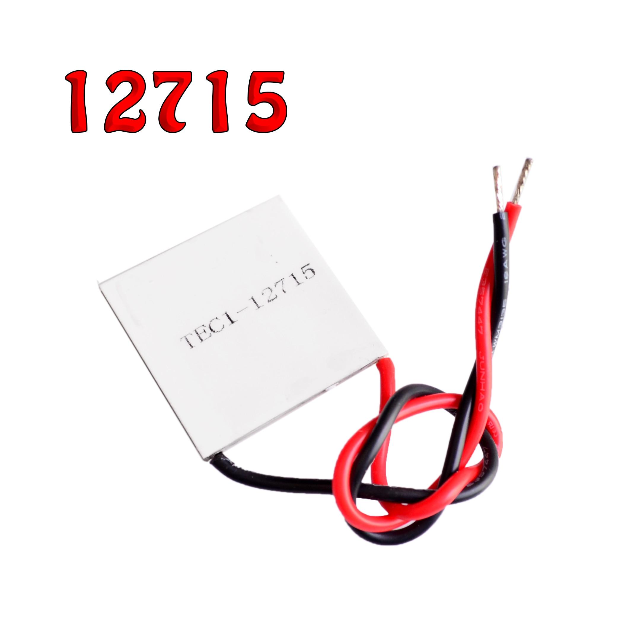 10pcs lot TEC1 12715 Heatsink Thermoelectric Cooler Cooling Peltier Plate Module
