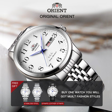 100% Original ORIENT Watch Men's  Automatic Mechanical Watch Classic Business Men's Wristwatches Warranty English Week Display цены онлайн