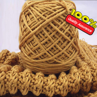 Wholesale 2 Balls 400g 1Lot Soft Silk Cotton Fiber Cashmere Wool Yarns For Kintting Eco Friendly