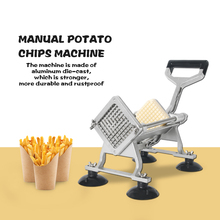 ITOP Stainless Steel Manual Cutting Fries Machine Of Various Sizes Cut Strips Chopper Commercial Kitchen Slicer