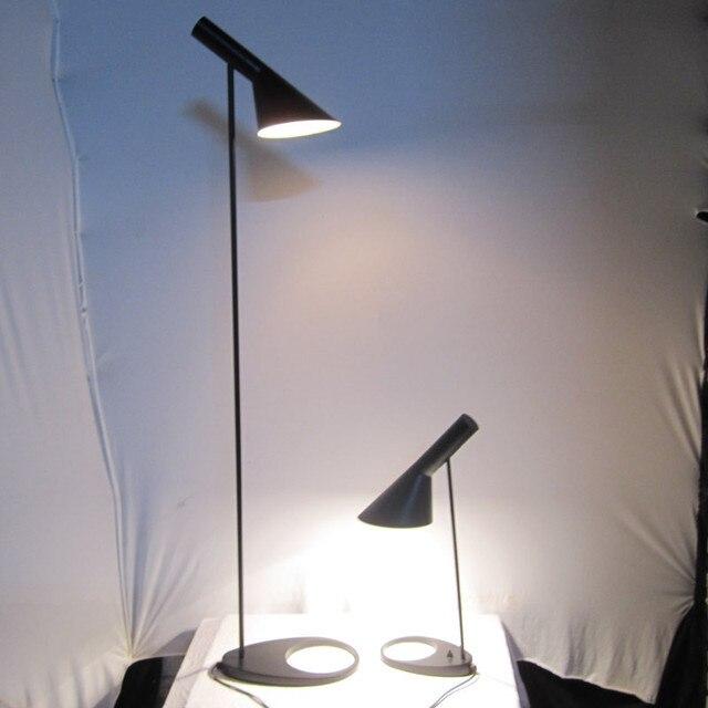Led Energiesparende Metall Aj Stehleuchte Design Von Arne Jacobsen