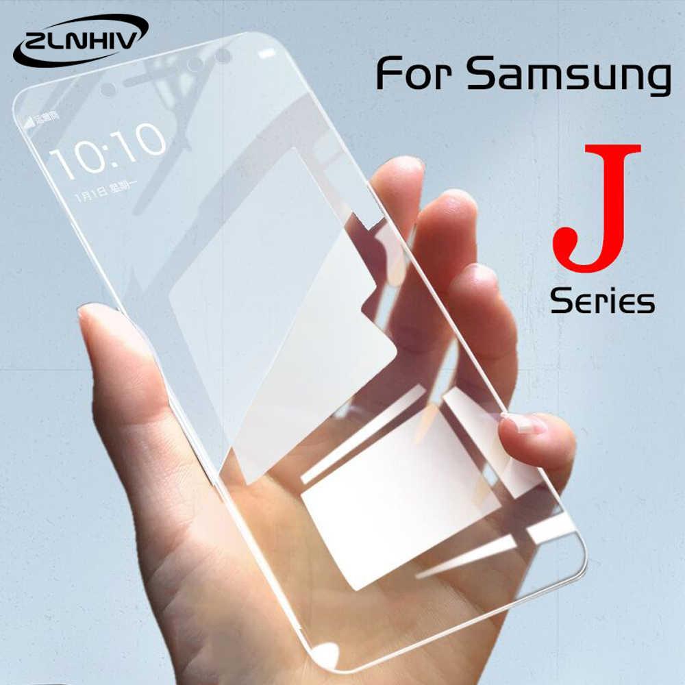 ZLNHIV الزجاج المقسى لسامسونج غالاكسي j5 j7 برو 2017 j6 j8 2018 الهاتف واقي للشاشة طبقة رقيقة واقية على الزجاج الهاتف الذكي