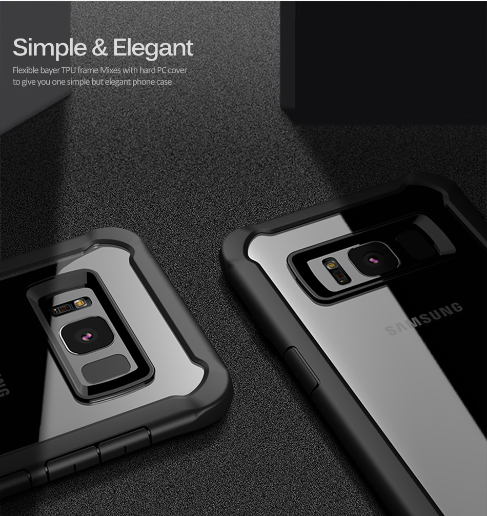 Newest 100% Original IPAKY amazing design top quality silicone case for Samsung Galaxy S8 / S8 plus cool serial soft cover