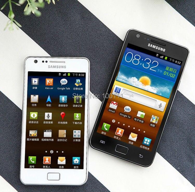 "Billiger Preis Original Samsung Galaxy Sii S2 I9100 4,3 ""android Dual Core 8.0mp Wi-fi Renoviert Handy Entsperrt/freies Verschiffen Up-To-Date-Styling"