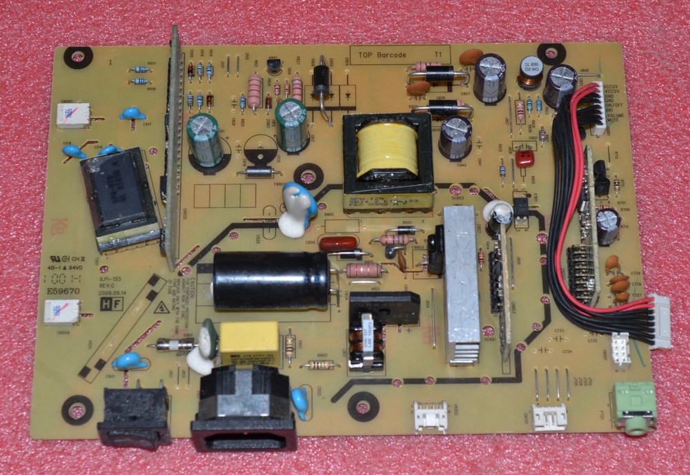 Free Shipping>V193D Power Board  V193D pressure plate  V193W power board ILPI-155-Original 100% Tested Working free shipping s2031 power board 492001400100r ilpi 182 pressure plate hw191apb original 100% tested working