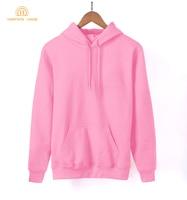 2018 New Arrival Spring Kawaii Women Sweatshirts Kpop Solid Hoodies Warm Fleece Harajuku Hoodie Black White