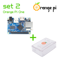 Orange Pi One SET2:  OPi One+ABS Transparent Caes