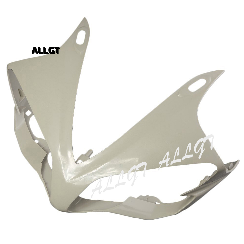 ALLGT  Injection Moulding Unpainted Upper Front Cowl Nose Fairing for YAMAHA YZF R1 2007 2008 2009