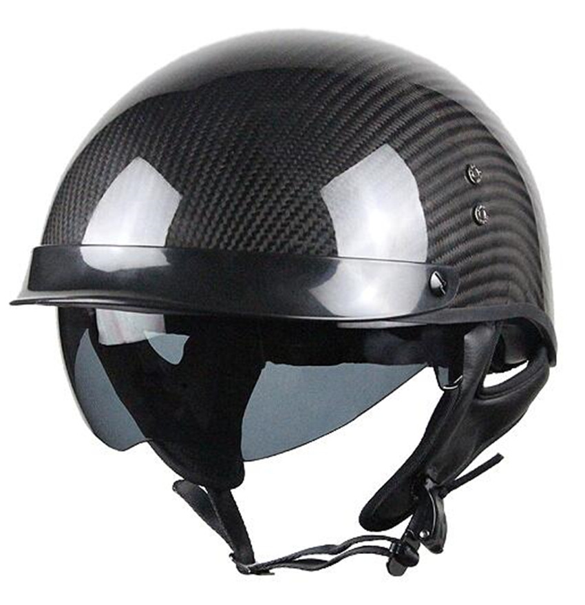 VOSS brands Carbon fiber brammo vintage for halley motorcycle helmet motorcycle safety helmet цена