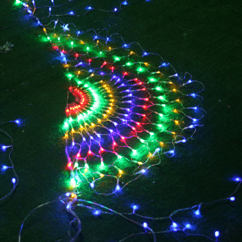 New Year Garland LED Jullampor Outdoor Party Cristmas Decoration - Festlig belysning - Foto 5