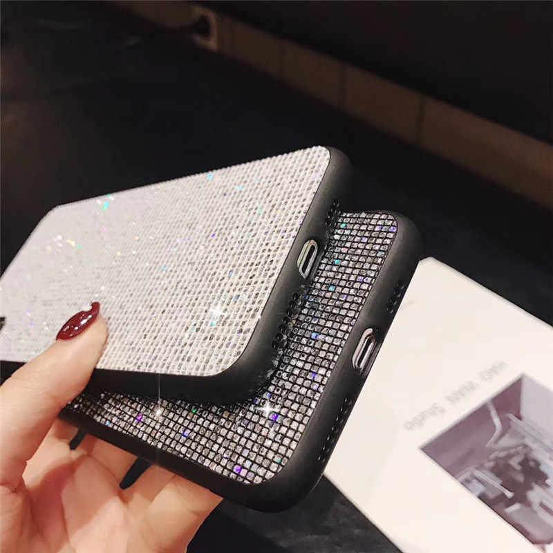 Чехол для Vivo Y71 Y83 Y85 Y79 Y97 Y81 Y81S Y93 чехол роскошный алмаз с сияющими блестками задняя крышка для Vivo V11 Y97 Y91 X23 X9 X9S X20 X21i