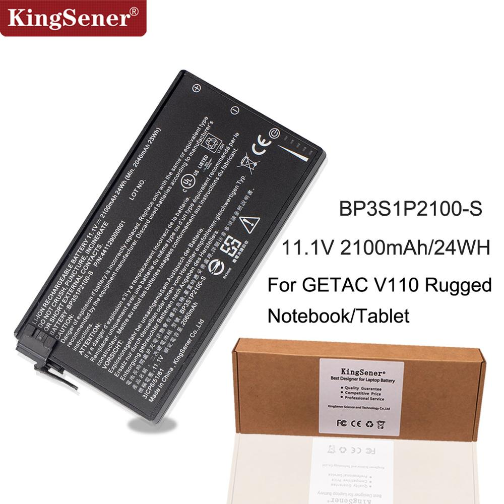 KingSener New BP3S1P2100-S Battery For Getac V110 Rugged Notebook BP3S1P2100 441129000001 11.1V 2100mAh/24WH
