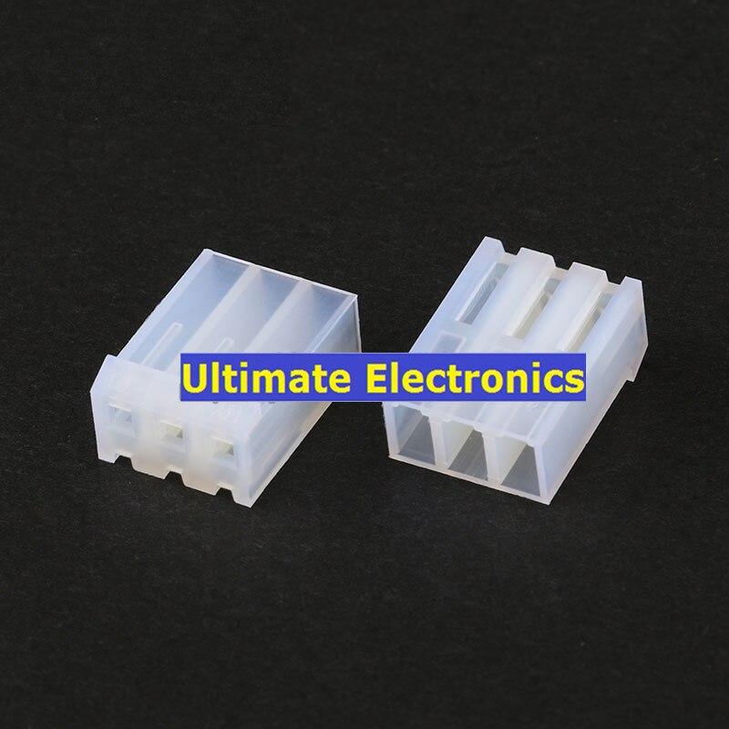 100pcs Ch3.96 Case 2p 3p 4p 5p 6p 7p 8p 9p 10p Plug Plastic Shell 3.96mm Pitch Connectors