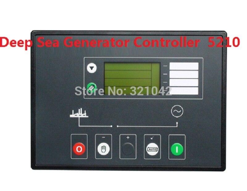 Generator accessories deep sea controller 5210 free shipping deep sea generator set controller module p5110 generator control panel replace dse5110