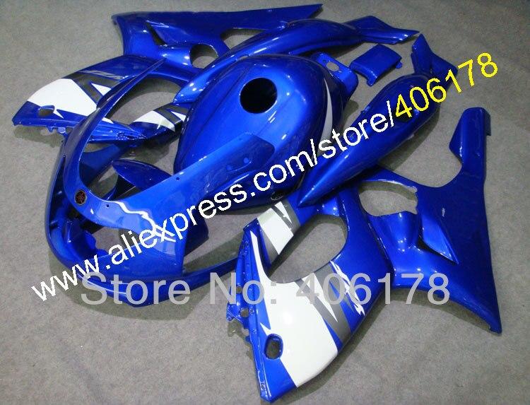 Hot Sales,97-07 YZF600R Complete Fairing Kit For Yamaha Yzf-600r Thundercat 1997-2007 Blue Motorbike body work ABS Fairing Kit