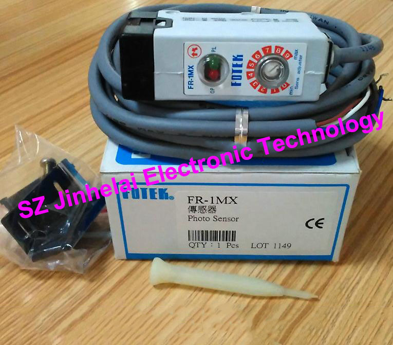 100% New and original FOTEK Photoelectric switch  FR-1MX 100% new and original fotek photoelectric switch mr 10x npn