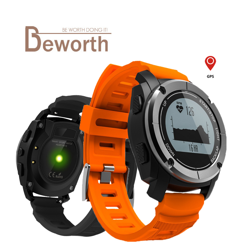 все цены на S928 GPS Outdoor Sports Smart Watch IP66 Life Waterproof with Heart Rate Monitor Pressure Wristwatch for Android 7.1 IOS Phone онлайн